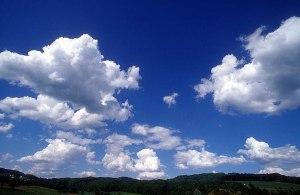 blue sky-and-cloud
