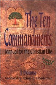 Douma Ten Commandments cover